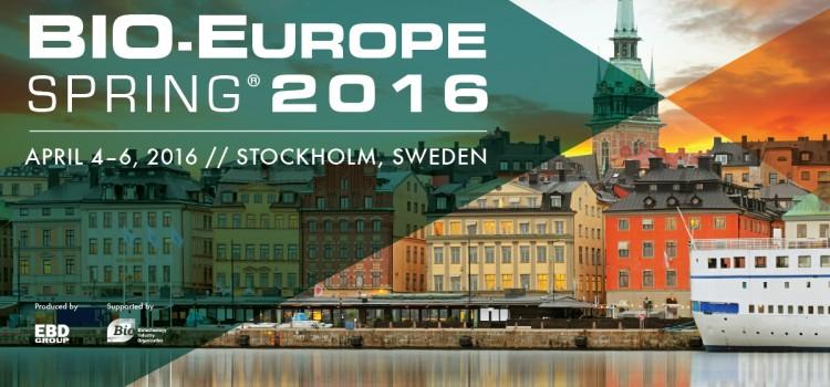 Oncomatryx at BIO-EUROPE Spring 2016