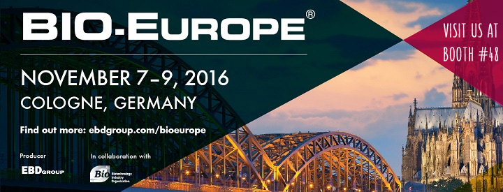 Oncomatryx at BioEurope 2016